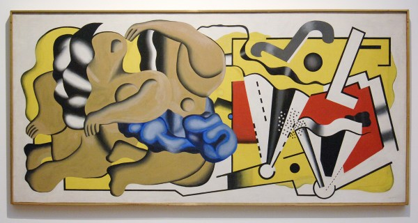 Fernand Leger - Composition I (Mural decoratino for a dining room) - Olieverf op canvas, 1930