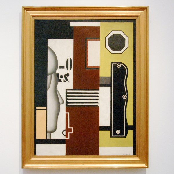 Fernand Leger - Composition with Profile - Olieverf op canvas, 1926