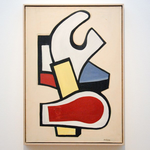 Fernand Leger - Mural Painting - Olieverf op canvas, 1953