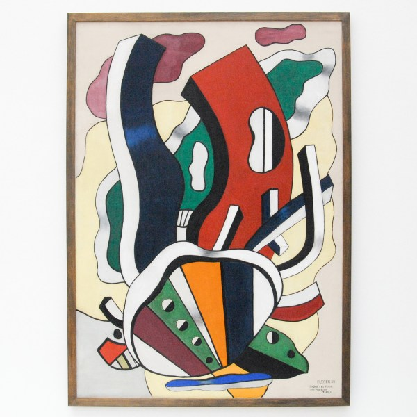 Fernand Leger - Study for a Mural Painting - Olieverf op canvas, 1938