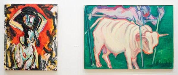 Karel Appel - 1994 (Stedelijk) & Maria Lassnig - undated (Stedelijk)