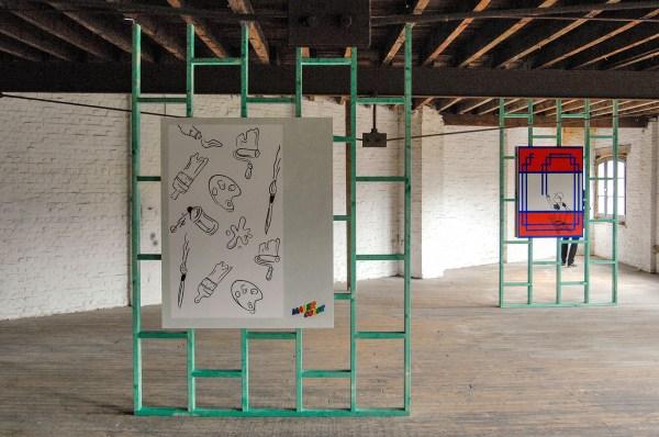 Trampoline - Sindy (Elke van Kerckvoorde & Dieter Durinck) - Decoratieve schilderwerken (overzicht)