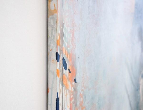 Jackie Saccoccio - Place (Garibaldi) - 145x114cm Olieverf op linnen (detail)