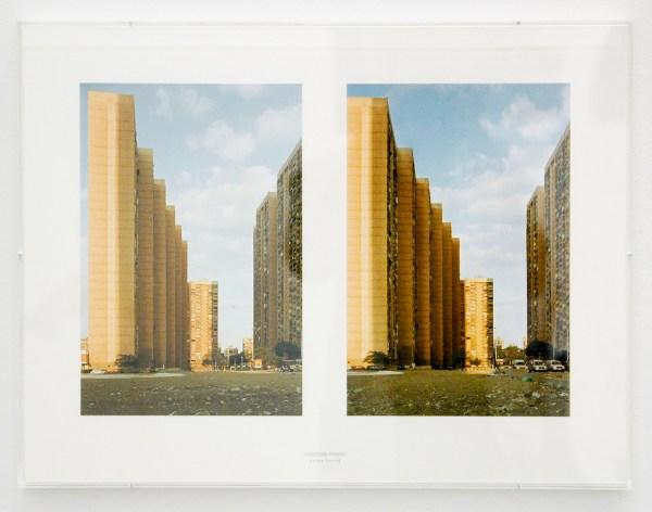 Aglaia Konrad - Undecided Frames (Cairo 2005) - Digitale print gemonteerd op archiefkarton, stempel en plexidoos, 2013