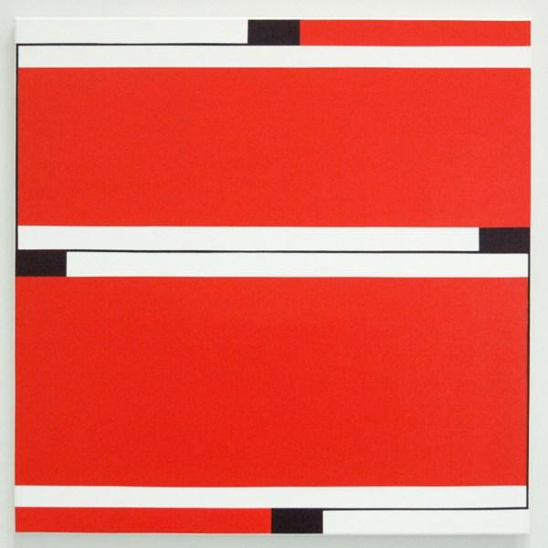 Caroline van Damme - Quadrat 1 - Acrylverf op canvas