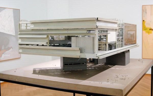 Constant Nieuwenhuijs - Fragment van een Sector - Metaal, perspex en hout, 1969