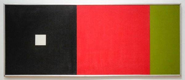 Constant Nieuwenhuijs - Zwart Rood Groen - Olieverf op paneel, 1953