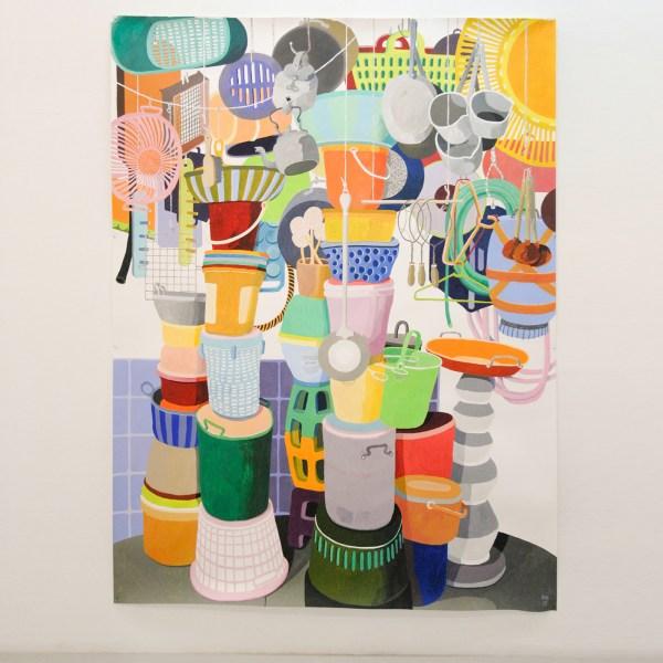Erik Mattijssen - Handelsbelang - 262x196cm Potlood en gouache op papier