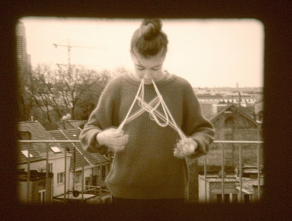 Katrien Vermeire - String Figures, Brussel - 16mm filmprojectie