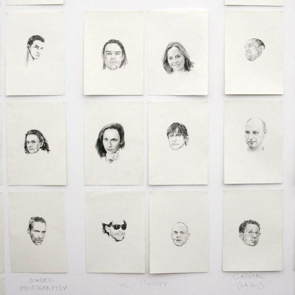Vriend van Bavink Gallery - Famous Artist School (maker onbekend) (detail)