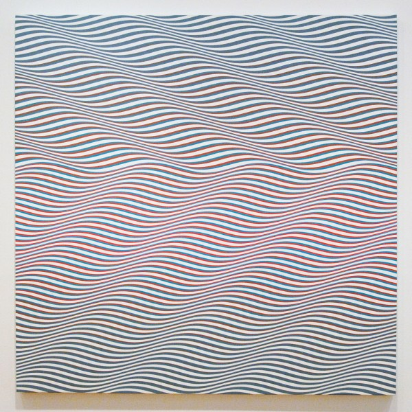 Bridget Riley - Cataract - PVA op canvas, 1967
