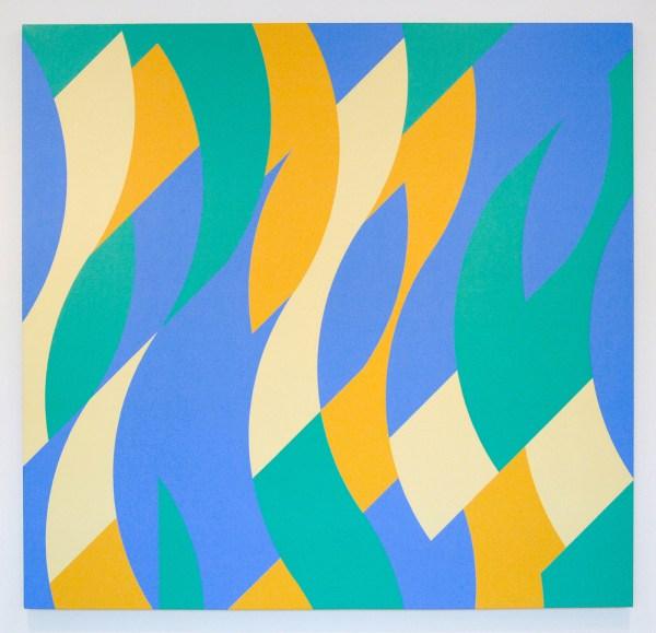 Bridget Riley - Reve - Olieverf op linnen, 1999