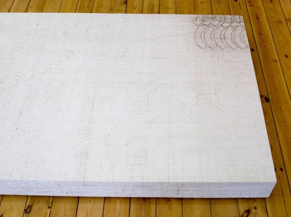 Davic Maljkovic - Postament 1 - 220x110x15cm Forex board (detail)