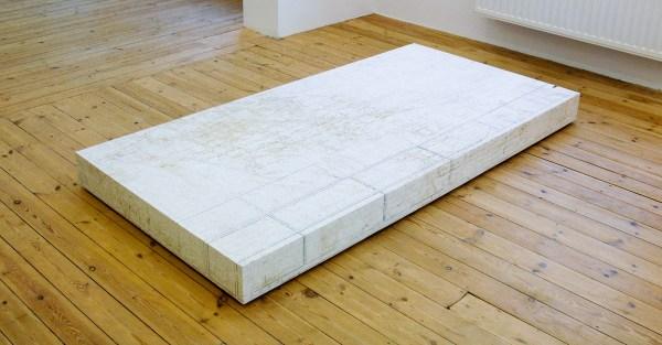 Davic Maljkovic - Postament 2 - 220x110x15cm Forex board