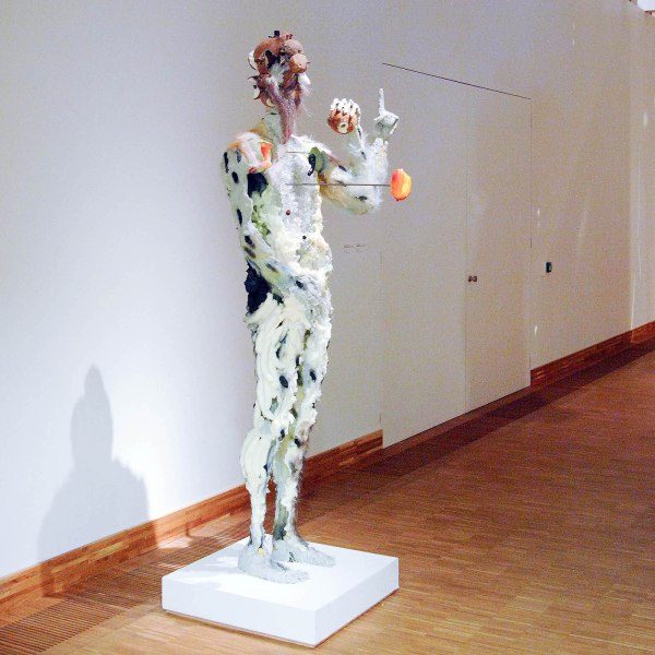 David Altmejd - Figure with Cantaloupe Shoulders - 236x90x71cm Mixed Media