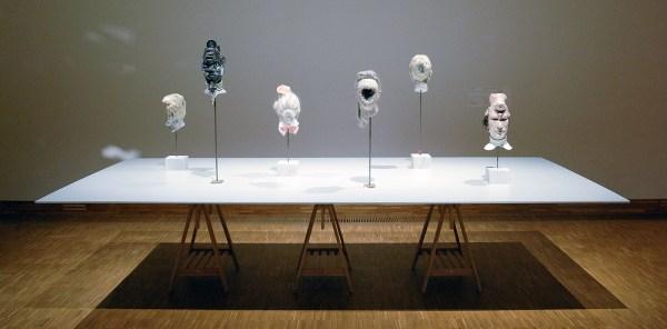 David Altmejd - The Lure & Allies & La Galerie des Glaces & Le Fond & Eye & La Modestie - Mixed Media