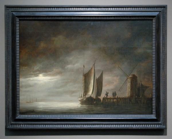 Aelbert Cuyp - Thunderstorm over Dordrecht - 78x107cm Olieverf op eikenhout, 1645