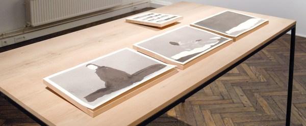 Lien Huwels - Revision to an Error - 33x24cm & 47x33cm Zeefdruk op papier