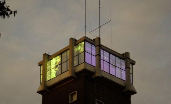 Wineke Gartz - Ms. Candelabra's Platform of Light - Loop, Videoprojectie