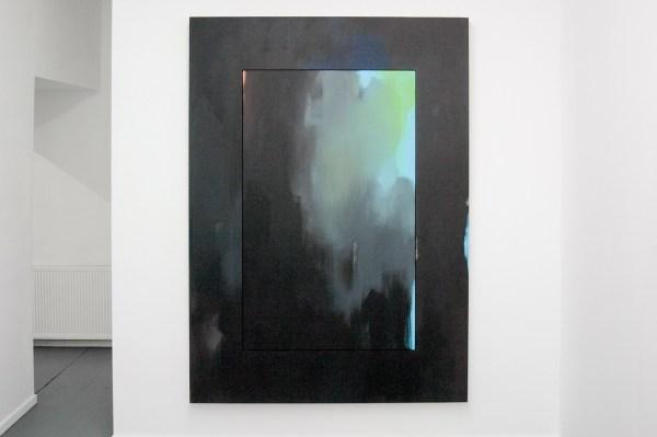 Esther Tielemans - Untitled - 210x150cm Acrylverf op paneel