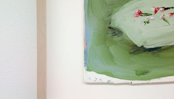 Sanne Rous - Untitled - 30x34cm Olieverf op canvas (ingelijst) (detail)