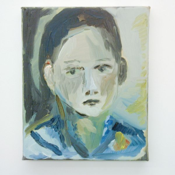 Sanne Rous - Untitled - 32x26cm Olieverf op canvas