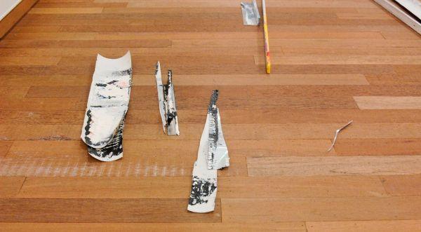 Ton Boelhouwer - Inversions Part 1 - Olieverf op aluminium en doek (detail)