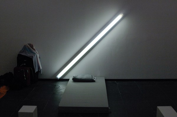 Dan Flavin - The Diagonal of May 25th, 1963 - TL-licht