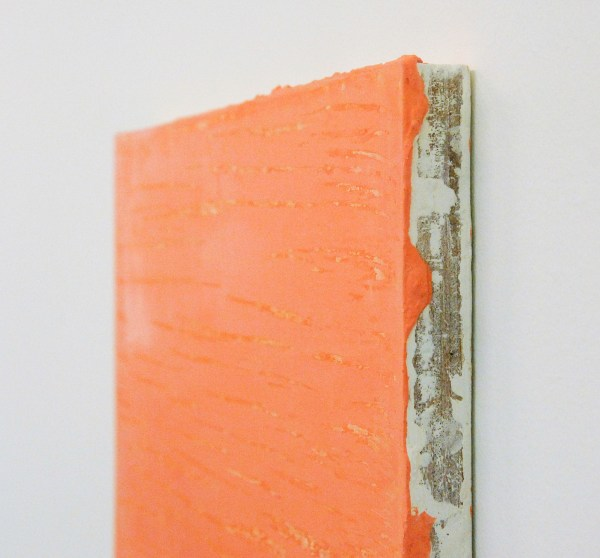 Willy de Sauter - Zonder Titel - 31x39 cm Pigment en krijt op paneel (detail)