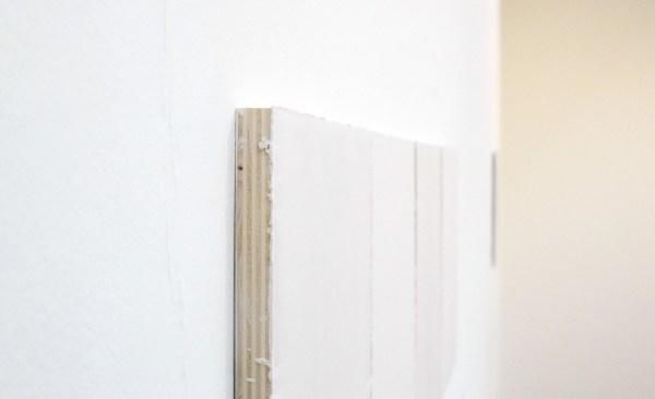 Willy de Sauter - Zonder Titel - 4 maal 35x24cm Krijt op paneel (detail)