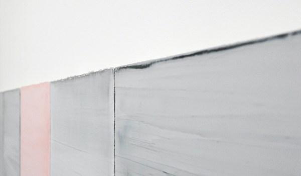 Willy de Sauter - Zonder Titel - 7 maal 35x24cm Pigment en krijt op paneel (detail)