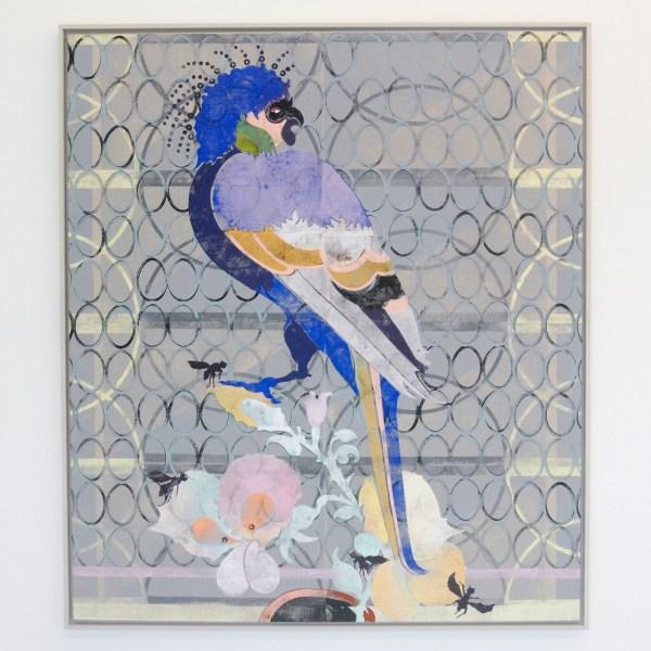 Gert en Uwe Tobias - Untitled - 155x135x4cm Gekleurde houtsnede op canvas, editie van 2