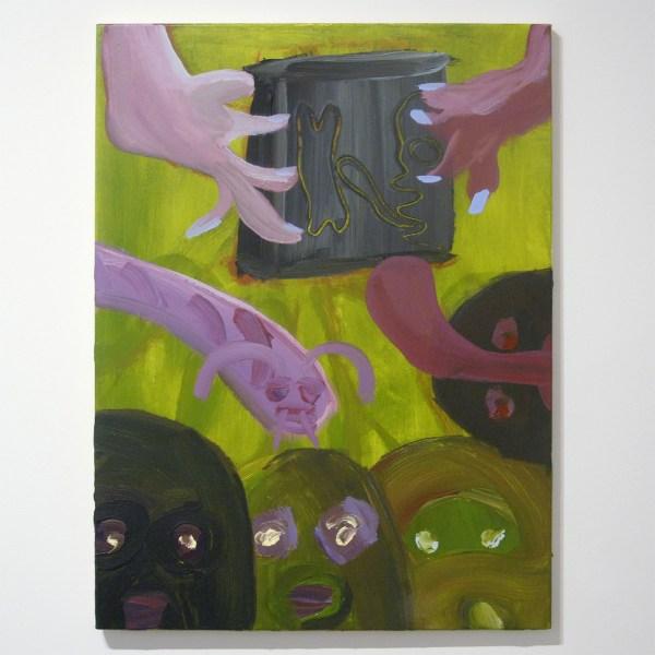 Sam Hersbach - Tijdelijk zonder titel - 80x60cm Acrylverf op canvas