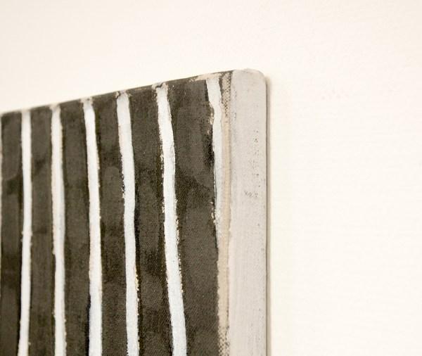 Raoul de Keyser - De Zandvlo - 74x74cm Acrylverf op doek (detail)