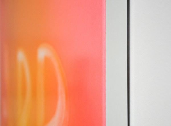 Marc Bijl - Disappear - 150x100cm Poeder coating op aluminium (detail)