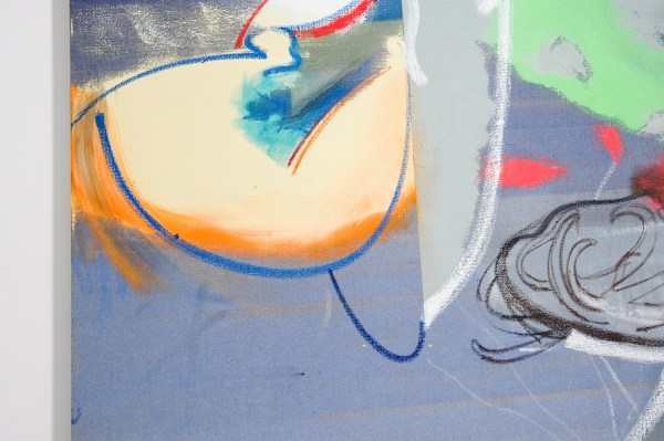 Daniel Richter - It can Happen Here - 210x160cm Olieverf op canvas (detail)