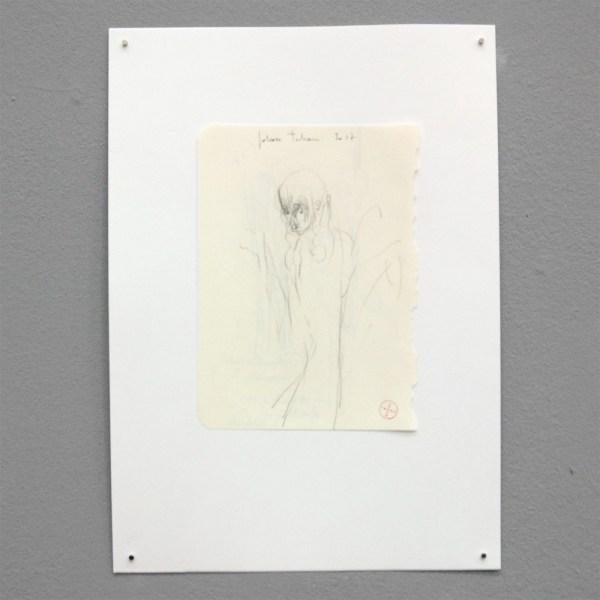 Johan Tahon - Untitled - 30x21cm Potlood en papier op papier