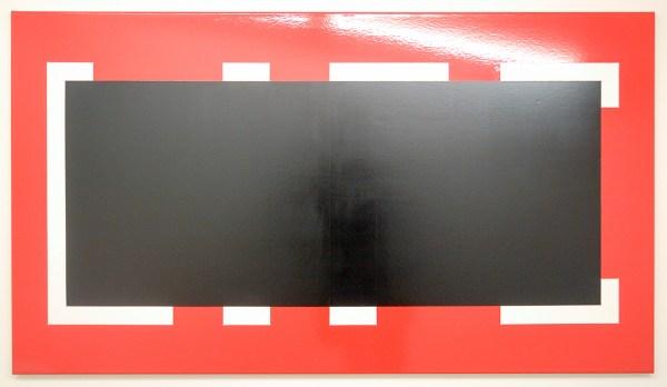 Ronald de Bloeme - Life - 90x160cm Mat- en hoogglanslak op katoen