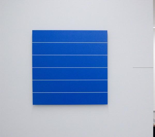 Sigmund de Jong - Untitled - 61x61x2cm Aluminium buizen, gepoedercoat