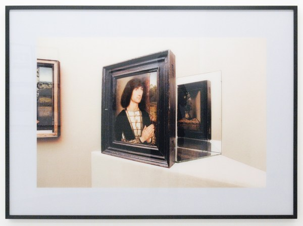 Timm Rautert - Memling (from the series Artworks) - 109x149cm Foto op diasec en eiken lijst