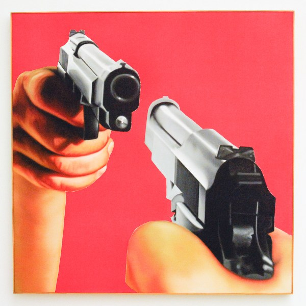 James Rosenquist - Professional Courtesy - Olieverf op canvas