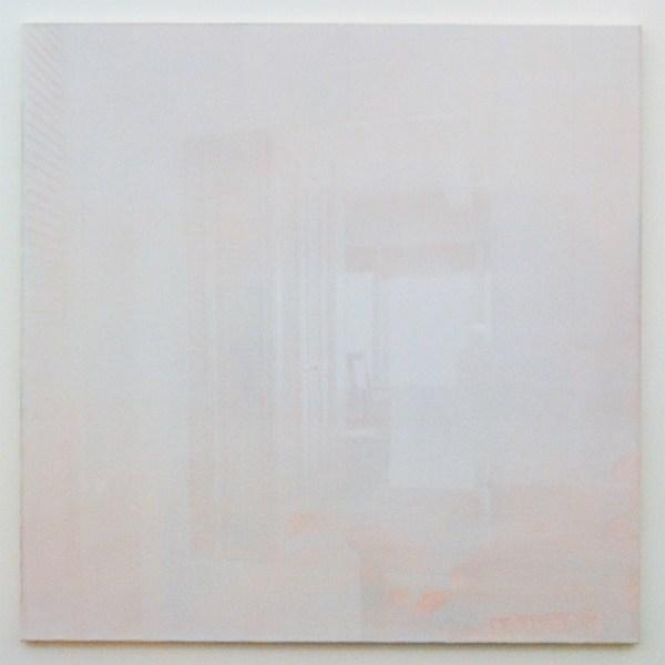 Joan van Barneveld - Mirror - 140x140cm Acrylverf op canvas, zeefdruk