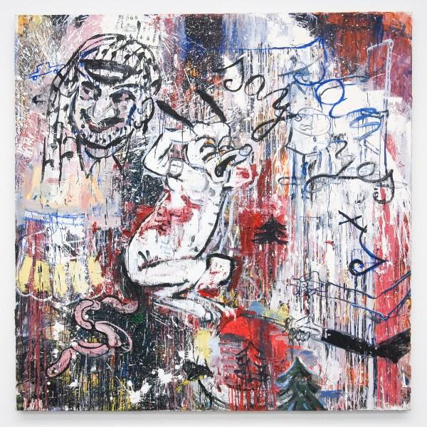 Philippe Vandenberg - Arafat Painting - Olieverf op doek