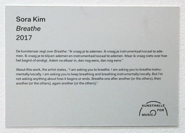 Sora Kim - Breathe