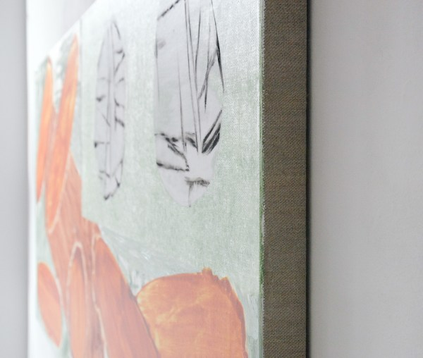 Toon Verhoef - Geen Titel - 90x220cm Acrylverf en olieverf op linnen (detail)
