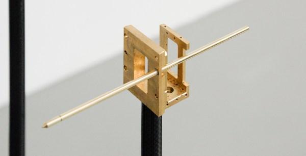 David Jablonowski - Public Hybrid (New Infrastructures 3, Version B) - 150x260x59cm Marmer (sahara noir), aluminium, staal, koper, messing, 3D print (koolstofvezel en polypropulene) (detail)
