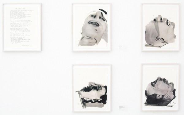 Marlene Dumas - Fog of War - Inkt op papier