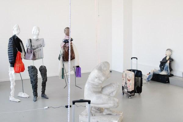Sander Breure & Witte van Hulzen - - Mixed media installatie