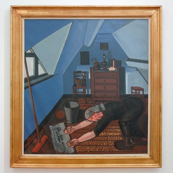 Jean Brusselmans - La Mansarde (De Zolderkamer) - Olieverf op doek, 1939