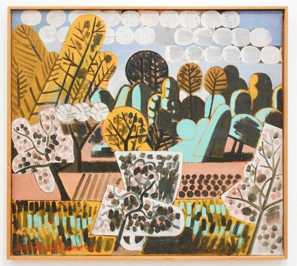 Jean Brusselmans - Le Printemps (Het Voorjaar) - Olieverf op doek, 1950